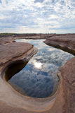 惊人的岩石 免版税图库摄影