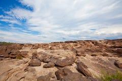 惊人的岩石 库存图片