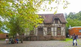 惊人的德国房子 库存图片