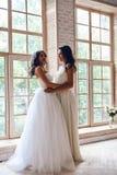 惊人的新娘 库存照片