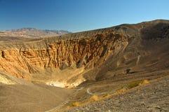 惊人的沙漠横向风景谷 免版税库存照片