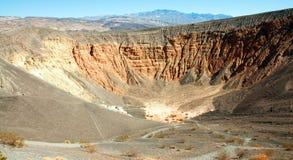 惊人的沙漠横向风景谷 免版税图库摄影