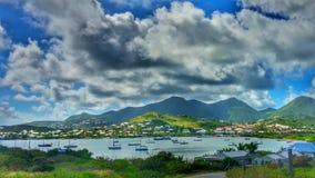 惊人的海岛生活 免版税图库摄影