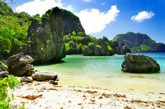 惊人的海岛菲律宾 库存照片