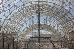 惊人的温室建筑学 库存照片