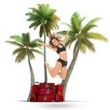 惊人的热带旅行 免版税库存照片