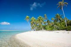 惊人的热带海滩 库存图片