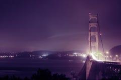 惊人的看法,金门大桥 免版税库存图片