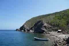 惊人的石榴石海滩 免版税库存图片