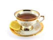 惊人的茶 免版税库存照片