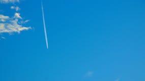 惊人的蓝天 库存图片