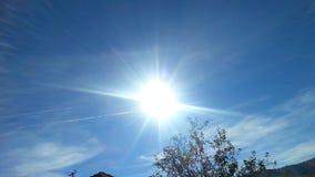 惊人的阳光焦点 库存图片