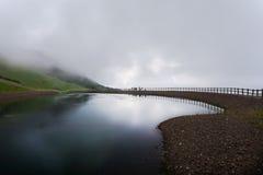 惊人的风景在Waidring,提洛尔,奥地利 免版税库存图片