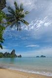 惊人的krabi省泰国 免版税库存图片