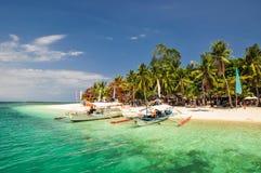 惊人Pandan海岛-本田海湾,巴拉望岛,菲律宾 库存图片