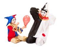气球爆炸 免版税库存照片