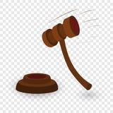 惊堂木动画片例证 皇族释放例证