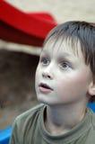 惊讶男孩年轻人 图库摄影