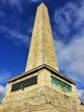 惠灵顿纪念碑 库存照片
