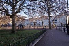 惠灵顿营房,鸟笼结构,伦敦 库存图片