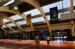 惠灵顿火车站 免版税图库摄影