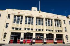 惠灵顿消防局 免版税库存照片
