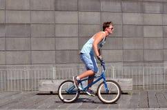 BMX自行车 库存照片