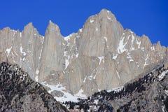 惠特尼山脉 图库摄影