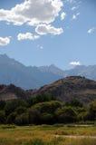 惠特尼山脉 库存照片