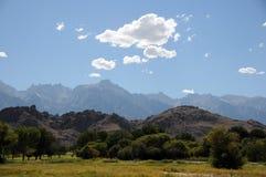 惠特尼山脉 库存图片