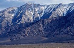惠特尼的山脉在加利福尼亚,美国 免版税库存照片