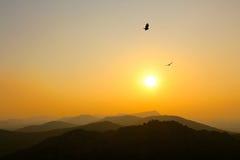 惠科塔山脉 库存图片