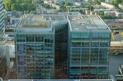 惠誉国际办公室,伦敦 免版税库存照片