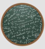 惯例算术黑板 库存例证