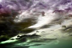 幻想不可思议的天空 免版税图库摄影
