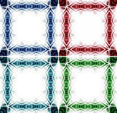 幻想五颜六色的边界框架 库存照片