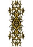 幻想在小精灵似的样式的弯曲的元素 皇族释放例证
