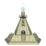 幻想寺庙 库存图片