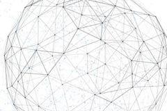 幻想抽象技术和工程学背景 免版税库存照片