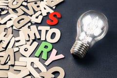 想法和故事 免版税图库摄影