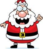 想法圣诞老人 免版税库存照片