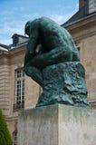 想法在罗丹博物馆在巴黎 库存照片