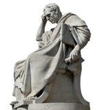 想法的人雕象 库存照片
