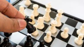 想法的比赛国际棋体育在地板上的 库存图片