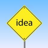 想法符号 免版税库存图片