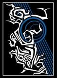 想法部族tatto  皇族释放例证