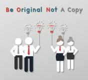想法领导企业概念 免版税库存图片