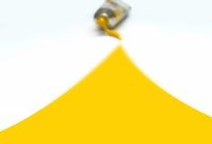 想法黄色 免版税库存图片