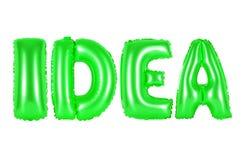 想法,绿色 免版税库存图片