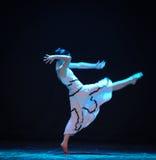 想象力和现实差事到迷宫现代舞蹈舞蹈动作设计者玛莎・葛兰姆里 免版税库存图片